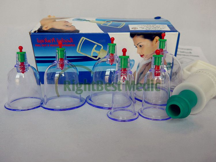 vacuum cupping sets 6 cups